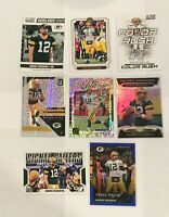 Aaron Rodgers (8) Card Lot Certified Unparalleled Donruss Legacy Score Packers