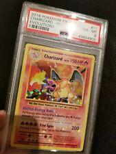 2016 Pokemon CHARIZARD XY Evolutions HOLO PSA 8 11/108 HOLOBLEED Near Mint Card
