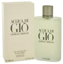 New ACQUA DI GIO 6.7 OZ 200 ML MEN'S EAU DE TOILLETTE SPRAY BY GIORGIO ARMANI !