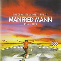 Manfred Mann's Earth Band - The Complete Greatest Hits Of Manfred Mann (NEW 2CD)