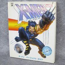 X-MEN PERFECT GUIDE Illustration Gashu Art STAN LEE Book SG*