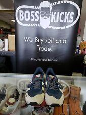 Diadora Sportswear TITAN II Men's Teal grey suede Fashion Sneakers Size 10.5
