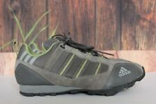 Adidas Brown Green Off Road Cycling Shoes Mountain Bike Gravel Bike Size 7