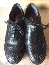 PEPE JEANS LONDON scarpe stringate con borchie pelle 40 leather shoes
