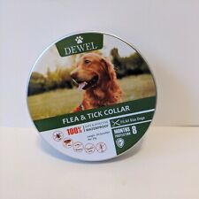 Dewel Flea and Tick Collar for Large Dog Over 18lbs 8 Month Protection Pro Guard