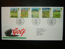 1994 SCOTTISH GOLF ROYAL MAIL FDC & PHILATELICBUREAU SHS CV £5