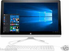 """NEW HP 23.8"""" Touch-SCRN All-in-One 6th Gen. Intel i3-6100U 2.3GHz 12GB 1TB WS 10"""