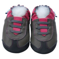 Jinwood Littleoneshoes Rubber Sole Baby Shoe Toddler Boy Trainer Navy 18-24M