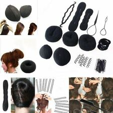 Women Magic Braiders Hair Twist Styling Clip Stick Bun Maker Braid Tool Set J&C