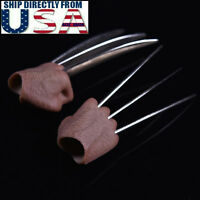 1/6 Wolverine Metal Claw Hands For Muscular Body For Hot Toys Logan Figure USA
