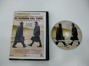 EL HOMBRE DEL TREN DVD JEAN ROCHEFORT JOHNNY HALLYDAY
