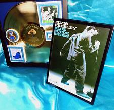 "ELVIS PRESLEY ""BLUE SUEDE SHOES""  GOLD RECORD AWARD- 1956 His Debut Album 1st  R"