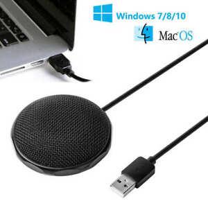 USB Mikrofon für PC und Laptop Kondensator Mikrofon 360 ° Studio Gaming DHL