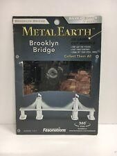 Metal Earth Brooklyn Bridge 3D Laser Cut Model Fascinations 010480