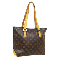 LOUIS VUITTON CABAS PIANO HAND TOTE BAG VI0014 PURSE MONOGRAM M51148 A53247