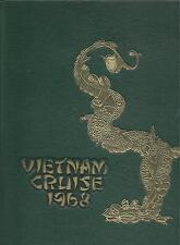 USS BOSTON CA-69 VIETNAM DEPLOYMENT CRUISE BOOK YEAR LOG 1968  - NAVY