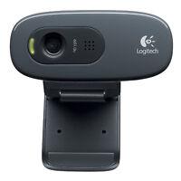 Logitech HD Webcam C270 Webcam HD with built-in microphone  compatible Skyp M4L7