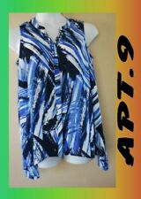WOMEN'S PLUS SIZE 0X 14W FLOWING SUMMER TANK CLOTHING NEW