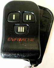 Case only Keyless entry remote Enforcer K4E919T4J replacement control key fob