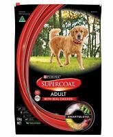 12kg Bag Purina Supercoat Adult Dog Food With Real Chicken Smartblend