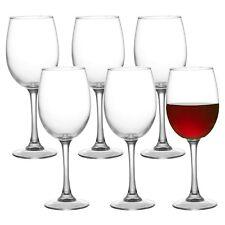 Lot de 6 Illusion vin Clair Lunettes Set Dîner Cadeau verrerie fête de mariage nouveau