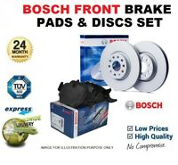 763 FRONT AND REAR BRAKE DISCS AND PADS FOR AUDI A4 CABRIOLET 2.0T FSI 3//2006-6//