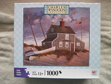 Charles Wysocki - EVERYONE LOVES A MYSTERY - 2008 - 1000 piece puzzle - NIB