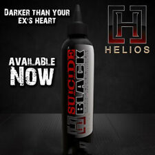 HELIOS Suicide Outlining Black Tattoo Ink  Authentic Individual 8 oz Bottle USA