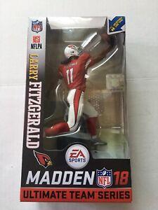 Larry Fitzgerald Arizona Cardinals NFL Madden 18  Figure McFarlane Series 1 Red