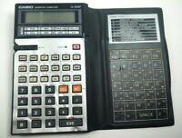 Vintage Casio FX-5200P LCD BASIC Scientific computer calculator 1985 japan Works