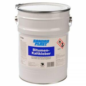 GP.3,50€/L) 10 L Bitumen Kaltkleber Bitumenkleber Kleber Dach Kaltklebemasse