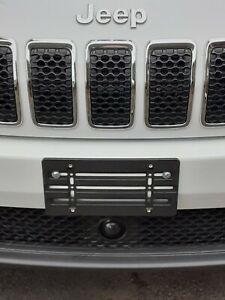 License Plate Tag Holder Mount Relocator Adapter Bumper Kit Bracket for JEEP New