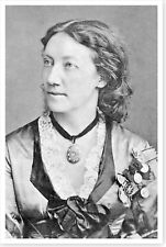 Stage Actress Marie Seebach 8x12 Silver Halide Photo