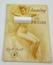 Vintage Drawing Nude Figures Russell Tredell Book