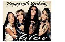 PERSONALISED LITTLE MIX BIRTHDAY CARD A5 ANY NAME AGE GREETING OCCASION