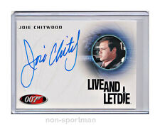 JAMES BOND ARCHIVES 2014 AUTO A254 JOIE CHITWOOD