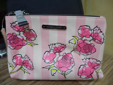 VS Victoria's Secret  XO Victoria Bi-zip  Cosmetic Bag/Pouch/Case