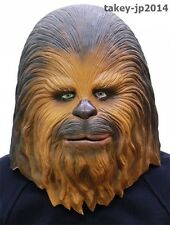 Star Wars Chewbacca Rubber Mask Cosplay Costume Made in Japan Free Shipping
