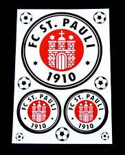 "1. FC St. Pauli, Astra Bier, Aufkleber 3er Set "" FC St. Pauli 1910 """