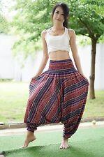 Harem Casual Trouser Boho Baggy Men Woman Yoga Indian Hippie Gypsy Pants