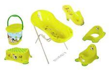 7er Funny grün Set Badewanne XXL+ Sitz +Ständer + Topf + WC + Hocker + Eimer