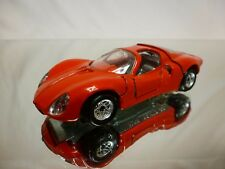 POLITOYS M11  ALFA ROMEO 33 BERLINETTA - RED 1:43 - VERY GOOD CONDITION
