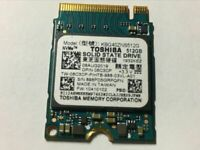 Toshiba KBG40ZNS512G  512GB SSD M.2  PCIe NVMe SOLID STATE DRIVE FOR LAPTOP SSD