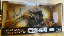 "Marvel Legends Ultimate GHOST RIDER Flame Cycle 12"" Figure NIB New In Box"