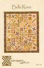 Quilt Pattern ~ BELLA ROSA ~ by Miss Rosie's Quilt Co.
