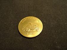 """1916 Chevrolet """"490"""" Franklin Mint Antique Car Bronze Coin"""