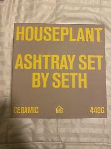 HOUSEPLANT | Ashtray Vase Set By Seth Rogen | MOSS  In Hand Ships Immediately