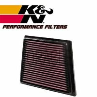 K&N HIGH FLOW AIR FILTER 33-2955 FOR FORD FIESTA VI 1.0 ECOBOOST 125 BHP 2012-
