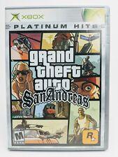 Grand Theft Auto: San Andreas (Microsoft Xbox, 2005) GTA Platinum Hits COMPLETE!