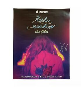*SIGNED & Personalized* Kesha Rainbow: The Film Poster *Limited*
